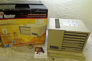 Mr Heater Big Maxx 75 000 BTU Natural Gas Garage Unit Heater MHU75NG