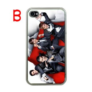 Big Time Rush BTR Black Apple iPhone 4 4S Photo Hard Cover Case