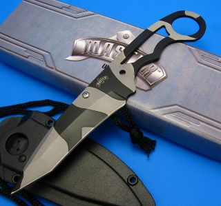 Master Cutlery Urban Camo Fixed Blade Full Tang Skeletonized Neck