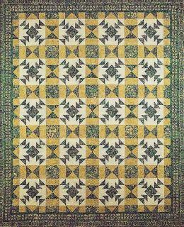 Key Lime Quilt Pattern by Bigfork Bay Cotton Co.