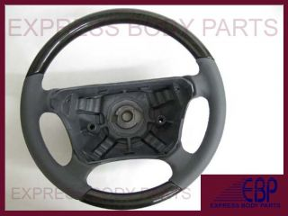 CLK430 CLK320 Mercedes Steering Wheel Gray Grey Birdseye Wood