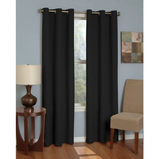 Eclipse Microfiber Grommet Blackout Window Curtain Panel from