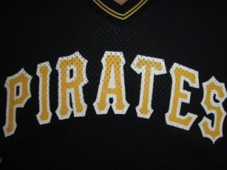 Bill Mad Dog Madlock Vtg Pittsburgh Pirates MLB Basballjersey RARE 5