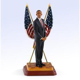 Thomas Blackshears Ebony Visions President Barack Obama Figurine