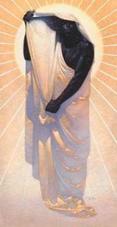 Thomas Blackshear Night in Day, Giclee Canvas Anniversary Edition.