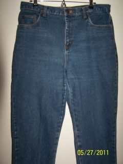 Ladies Bill Blass Jeans Blue Black and Ivory Sizes 14 16 18 Good