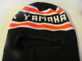 Yamaha Snowmobile Face Mask Neck Warmer Hat Cap Skull Winter Sports