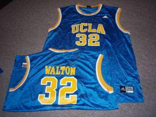 Adidas UCLA Bruins Bill Walton Basketball Jersey 2XL