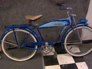 Vintage Schwinn Deluxe Hornet 26 Mens Bicycle Baloon Tire