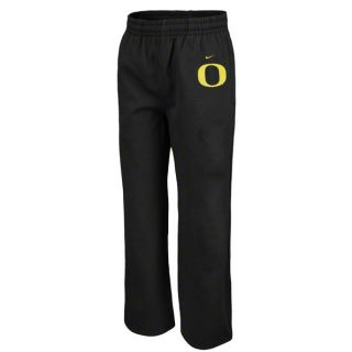 Youth Boys Nike Oregon Ducks Fleece sweat Pants Black Football