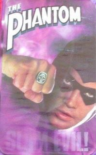 The Phantom Slam Evil Billy Zane VHS Super Hero Movie