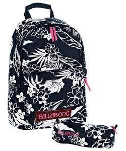 Billabong Womens Girls Backpack Rucksack School Bag BW
