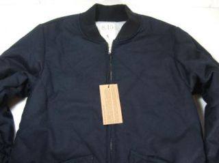 15 August Fifteenth Coat Jacket Mens Dark Navy Blue Small s New