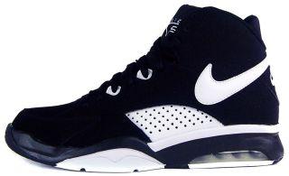Nike Air Maestro Flight Sz 10 Mens Basketball Shoes Black/White