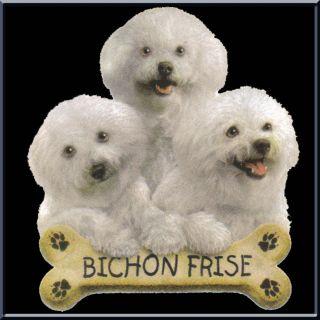 Bichon Frise Puppies with Bone Dog Shirt s 2X 3X 4X 5X