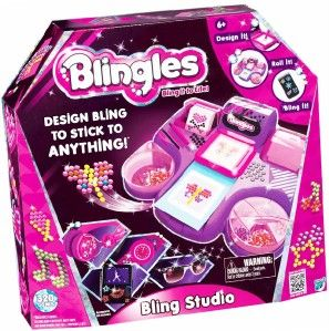 Blingles Bling Studio Design Your Own Gem Bling Decals, Decorate