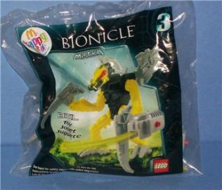 mcdonalds happy meal toy lego bionicle bitil 3 2008