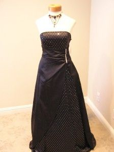 nwt blondie nites formal prom party evening gown dress