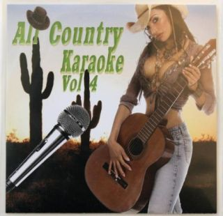 SINGLE DISC ALL COUNTRY VOL 4 KARAOKE CDG HOTTEST SONGS W/ MIRANDA