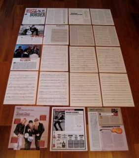ULTIMATE BILLY GIBBONS RARE CLIPPINGS COLLECTION! WOW! ZZ Top