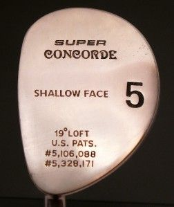Super Concord Shallow Face 5 LH Golf Club Fairway Wood