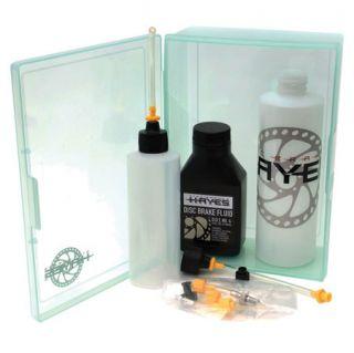 Hayes Brake Pro Bleed Kit Hydraulic Fluid Hose Fittings