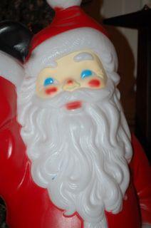 Empire 40 Blow Mold Santa Claus Lighted Christmas Outdoor Yard Decor