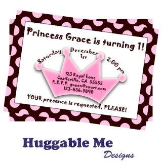 Princess Birthday Invitations Printable Kids Birthday Invitation