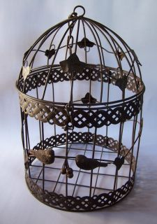 Bird Cage Decorative Bird House Deocrative Bird Cage Hanging Bird Cage