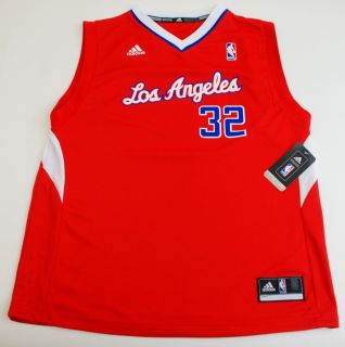NBA Adidas Los Angeles Clippers Blake Griffin Youth 2012 Road Red