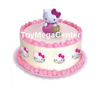 Kitty Birthday Cakes on New Hello Kitty Kids Birthday Party Cake Decoration Topper