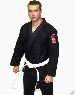 Fuji Brazilian Jiu Jitsu Gi Kimono bjj Uniform Black A1