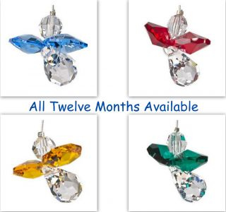Rainbow Maker Birthstone Crystal Angel Birth Month Gift