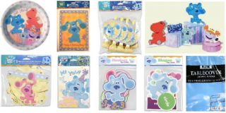 Blues Clues Birthday Party Supplies Gold U Choose