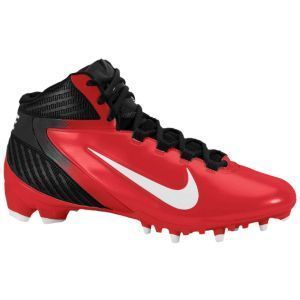 Alpha Speed TD 3 4 Football Cleats Black Blood Orange $90 Vapor