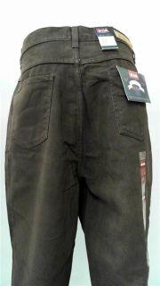 Bill Blass Jeans Soft Touch Misses 16 Color Denim Straight Leg Brown