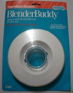 New Hamilton Beach Blender Lid Cap for Glass Jars