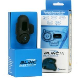 BLINC M1 Bluetooth Intercom motorcycle Helmet Add On  GPS PHONE ALL