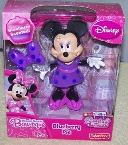 Disney Minnie Mouse Bow tique Blueberry Pie Sweets Treats 5 Doll New