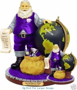 Kansas State Wildcats Special Delivery Santa Memoryco