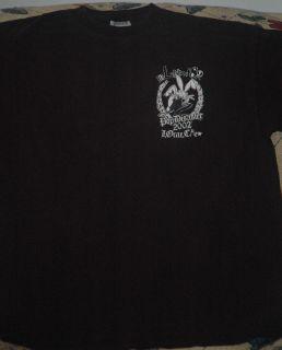 Blink 182 Pop Disaster Tour 2002 Local Crew Shirt