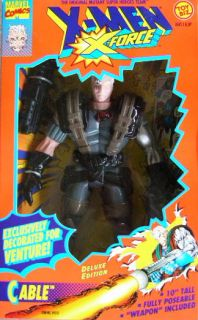 Toy Biz x Men 10 x Force Cable Venture Figure