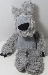 or Treat Party Woodsy Shaggy Wolf Stuffed Plush Animal 320270