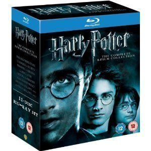 Harry Potter The Complete 1 8 Film Collection Blu Ray Box Set