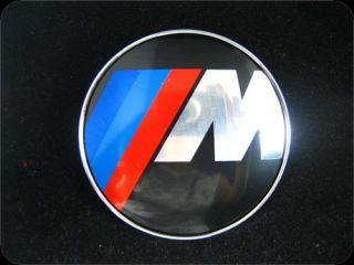 bmw m logo hood trunk emblem roundel badge 82mm 2 pins a489