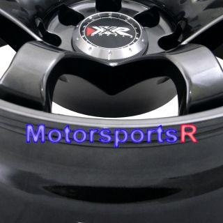 15 15x8 XXR 522 Chromium Black Concave Rims Wheels Stance 89 90 Nissan