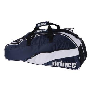 team navy six pack tennis bag style number 6p774 411