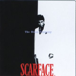 Black White Red Scarface Bathroom Shower Curtain Hook