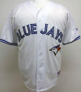 2012 New Toronto Blue Jays Blank Home Sewn Jersey High Quality Mens 6