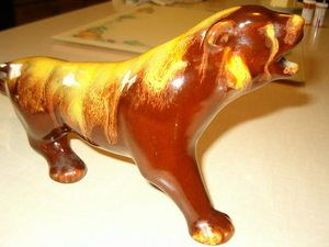 Blue Mountain Pottery BMP Harvest Gold Cougar Mint